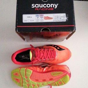 New Saucony Type A Racing Flats Men's 14